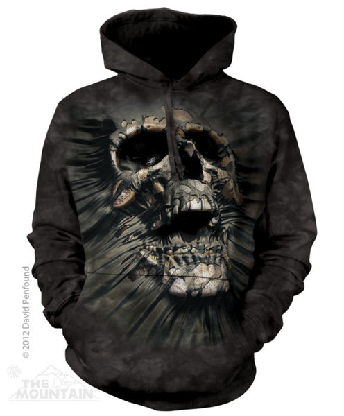 Breakthrough Skull Adults Hoodie