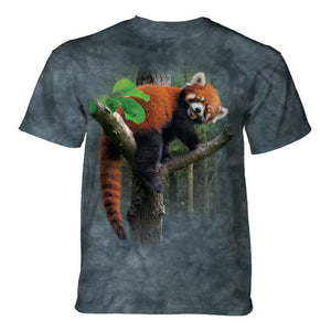 Red Panda Tree Childrens T-Shirt