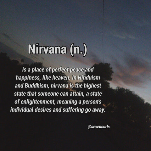 The Meaning of Nirvana