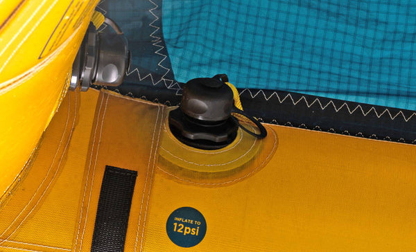 Ocean Rodeo Glide Aluula A-Series Wing Inflate Deflate Valves