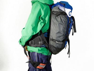 Ozone Connect Backcountry harness with backpack