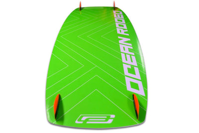 Ocean Rodeo Origin Kiteboard green bottom Canada Beginner