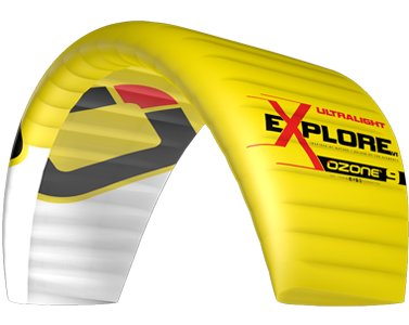 Ozone Explore Ultralight V1 Yellow Canada