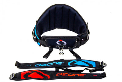 Ozone Snowkite Connect Pro detached leg straps