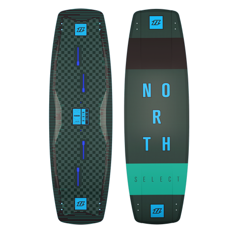 2018 North Kiteboarding Select Textreme Kiteboard