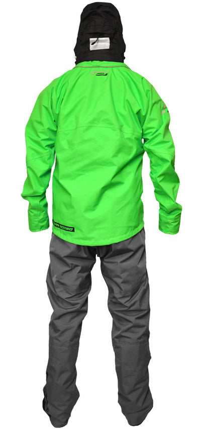 Ocean Rodeo Soul Drysuit Green Back