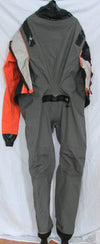Ocean Rodeo Soul drysuit 2XL Orange used open