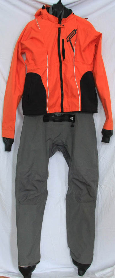Ocean Rodeo Soul drysuit 2XL Orange Used closed