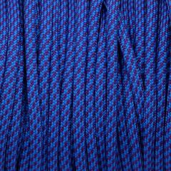 550 Paracord Blue and Purple Spiral