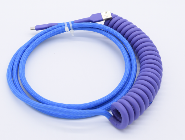 JUMBO Purple Coated Cable (Defect: Coated Coil)