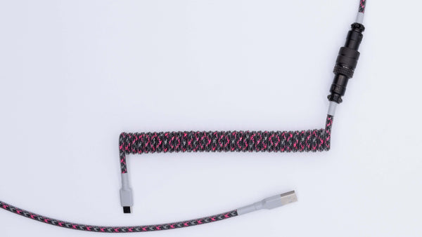 8008 Themed Coiled Aviator Cable