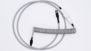 monochrome custom keyboard cable