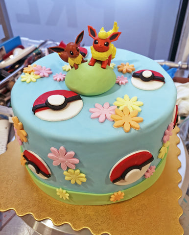 pokemon custom 3D cake