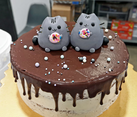 Pusheen 3D Custom Cake