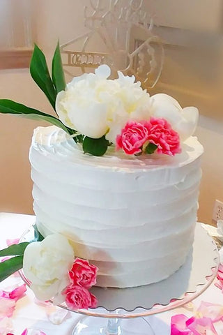 wedding top tier cake