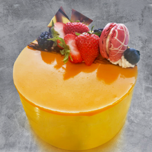 Load image into Gallery viewer, Mango Lychee or Mango Only Mousse Cake
