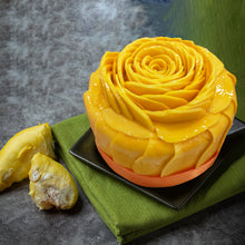 Load image into Gallery viewer, Durian cake wrapped with Mangoes