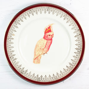 Vintage Upcycled Large Side Plates