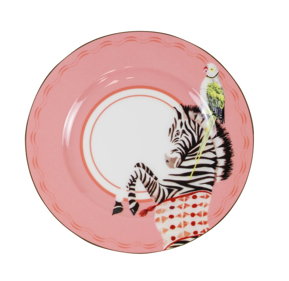 Carnival Animal Tea Plates, Set of 4