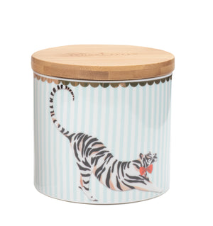 Tiger Storage Jar