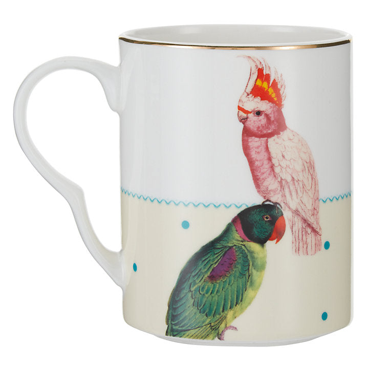 Parrot and Cockatoo Mug