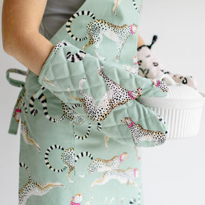 Load image into Gallery viewer, Cheetah Apron