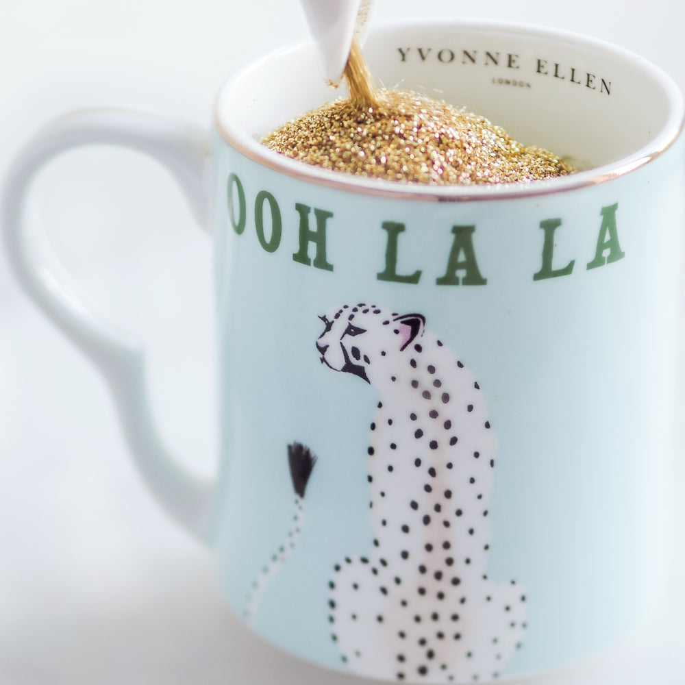 Cheetah Ooh La La Small Mug