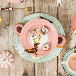 Pretty Puppies Cake Stand