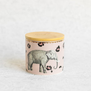 Load image into Gallery viewer, Elephant storage jar