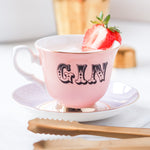 Pastel Gin Tea Cup and Saucer