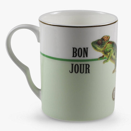 Load image into Gallery viewer, Bonjour mug