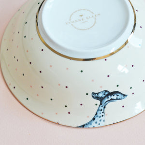 Bottom of narwhal bowl