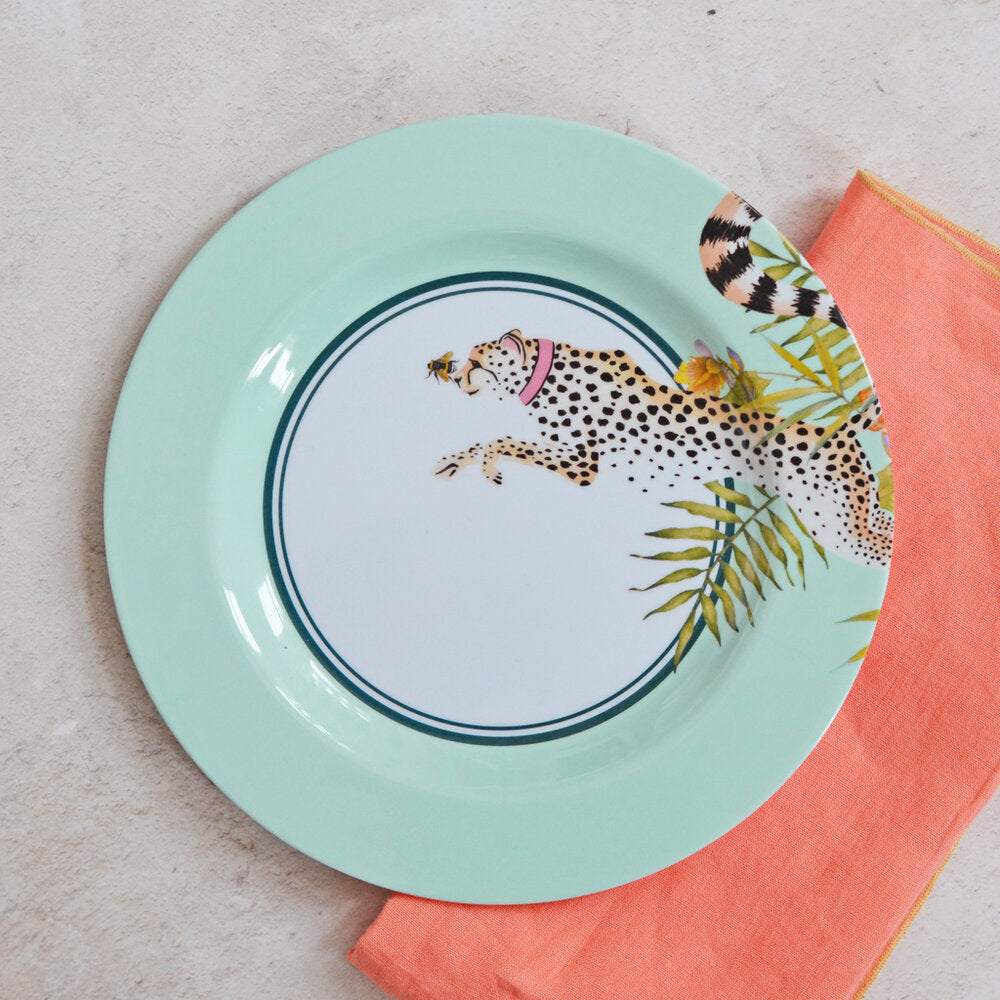 Cheetah Picnic Side Plate