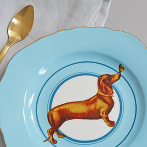 Load image into Gallery viewer, Sausage Doggie Tea Plate