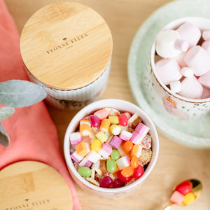 Storage jars with sweets