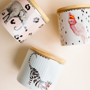 Tiger Small Storage Jar
