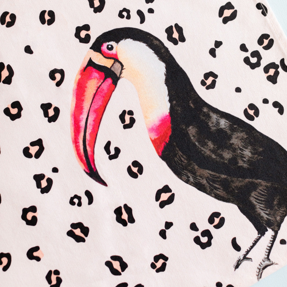 Load image into Gallery viewer, Toucan tea towel