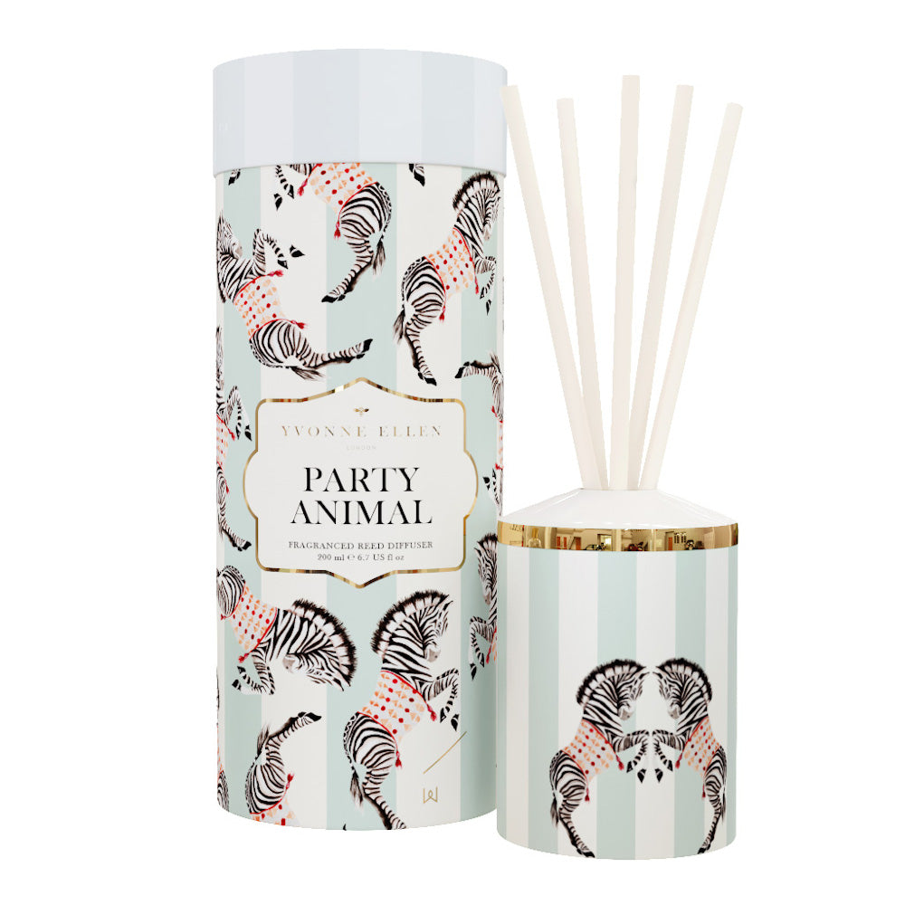 Party Animal reed diffuser with gift box