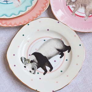 Load image into Gallery viewer, Panda cake plates
