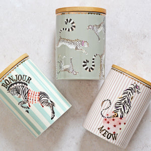 Three storage jars