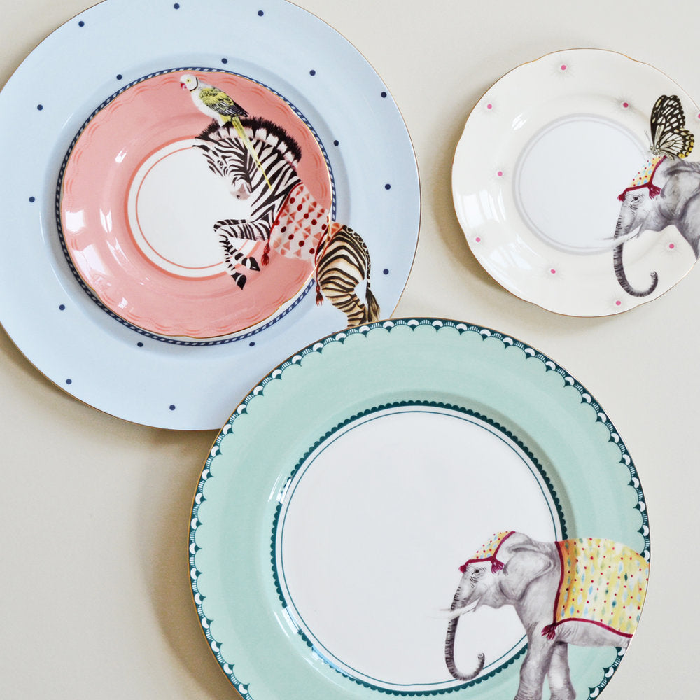 Load image into Gallery viewer, Carnival Animal Tea Plates, Set of 4