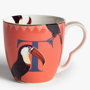 Load image into Gallery viewer, T Alphabet Mug