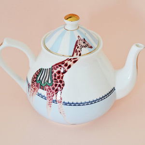Load image into Gallery viewer, Carnival Giraffes Teapot