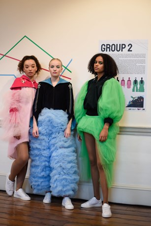 Somerset House hosts The Powerpuff Girls fashion showcase as part of London Fashion Week