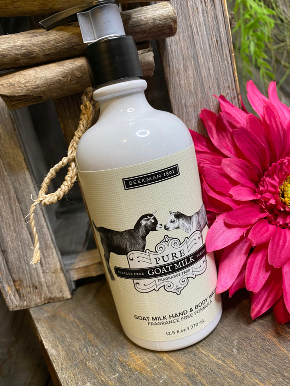 Self Care - Beekman Goat Milk Hand & Body Wash