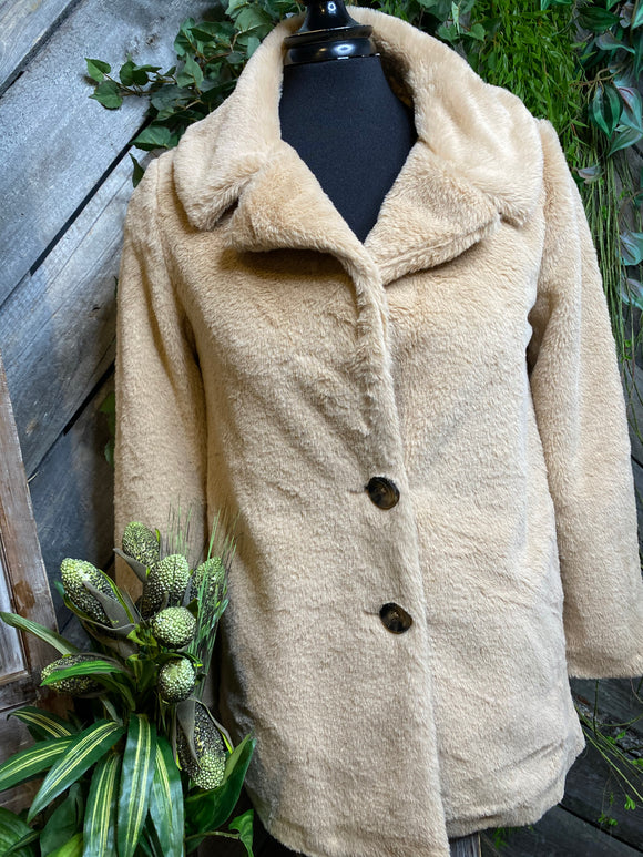 Z Supply - Teddy Bear Coat in Tan