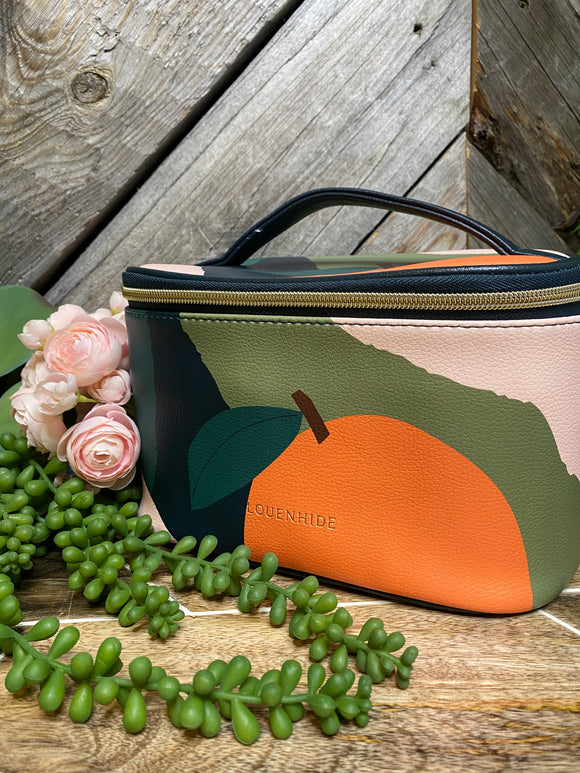 Louenhide - Make-up Bag Ontario in Green Orange