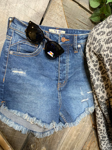 Free People - Lolita Blue Denim Short