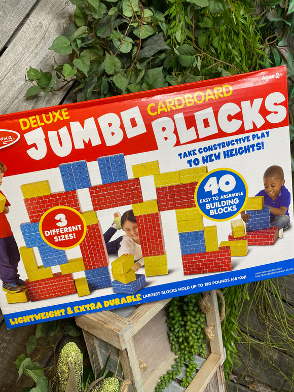 Blowout Sale - Melissa & Doug Jumbo Cardboard Blocks