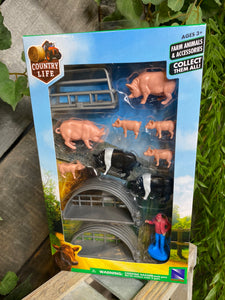 Toys - Country Life Farm Animals Pigs